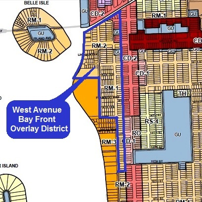 West Avenue Bay Front Overlay District