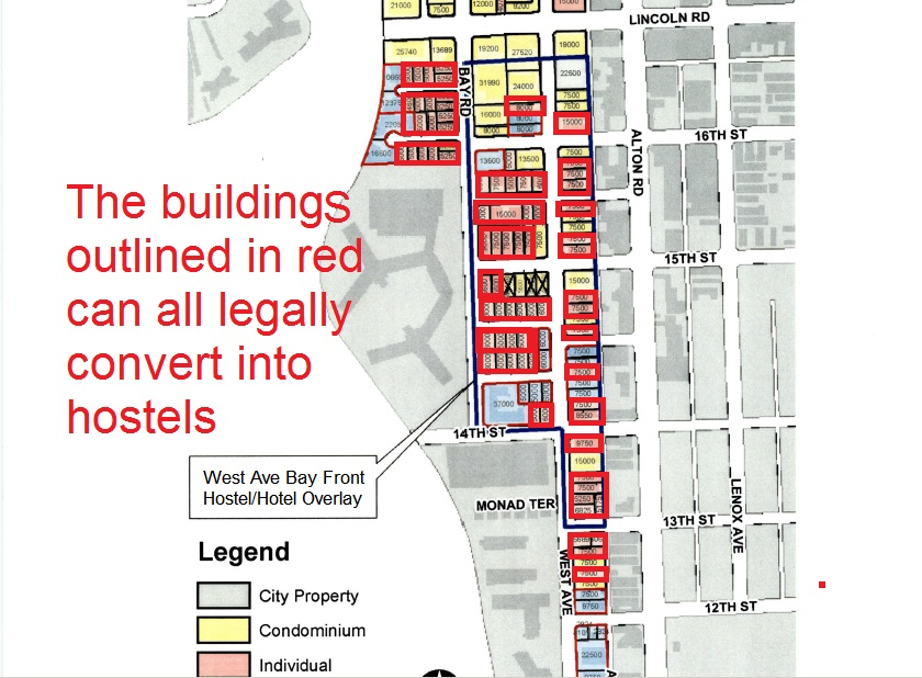 Maps West Avenue Neighborhood Association WAvNA - Miami beach zoning map